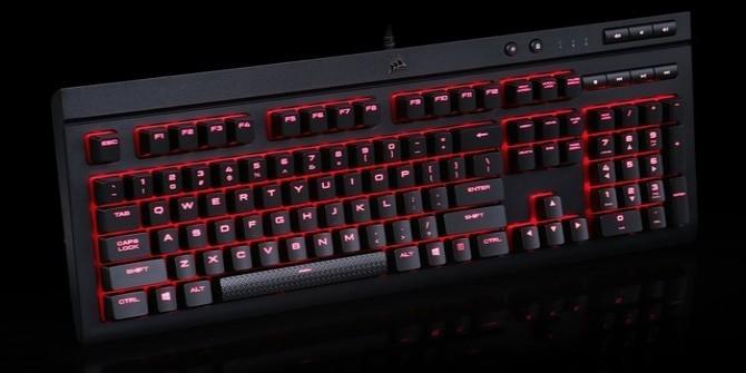 防溅水Cherry轴 海盗船K68键盘评测