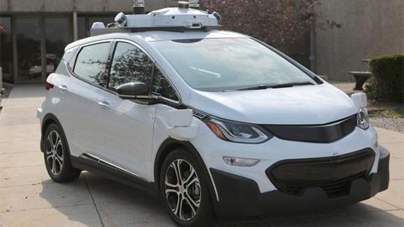 自动驾驶测试雪佛兰Bolt纯电动汽车下线