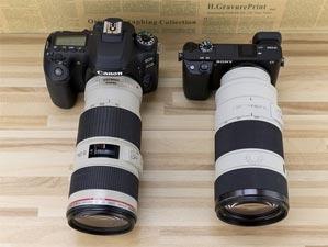 两款便携防抖长焦镜头对比