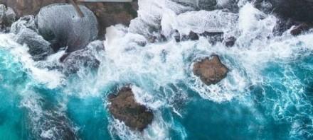 澳摄影师用无人机航拍绝美海岸风景