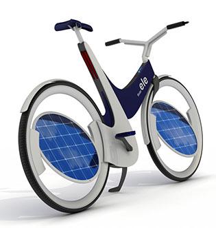 Ele solar太阳能概念电动车