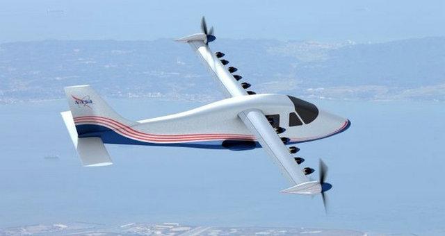 NASA����X-plane���綯�ɻ��δ����